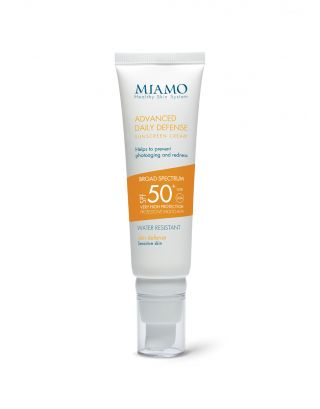 ADVANCED DAILY DEFENSE SUNSCREEN CREAM SPF 50+